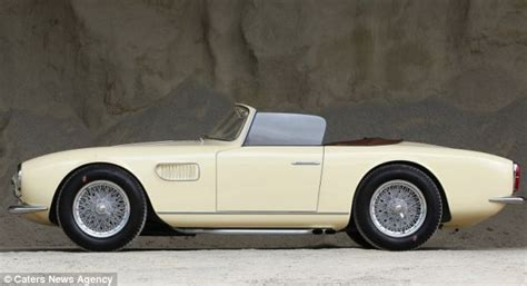 vintage maserati convertible drive away in a 39 little rocket 39 incredibly rare 1957