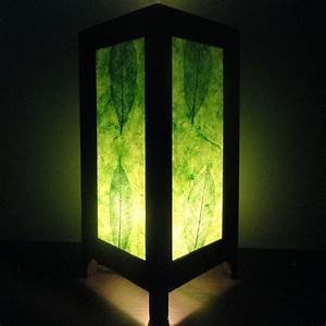 last sale 10 set of 2 pcs asian oriental new green With green paper floor lamp