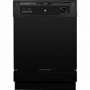Ge Front Control Dishwasher In Black-gsd3301kbb