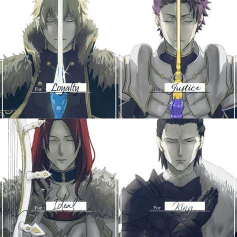 roundtable knights gawainlancelottristanagravain