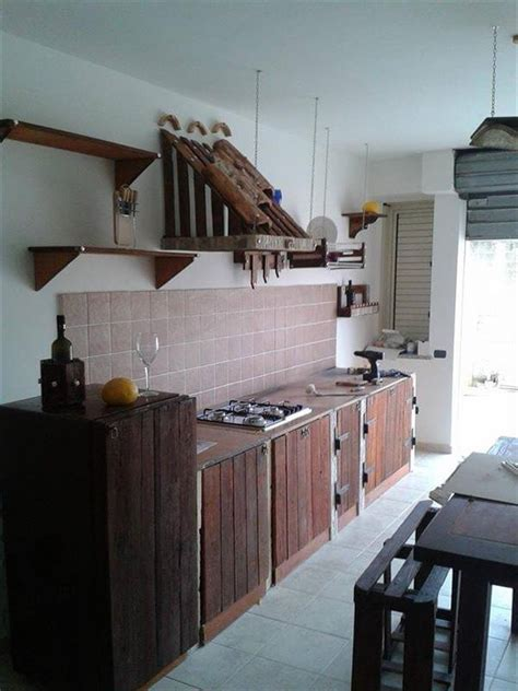 pallet kitchen cabinets diy design your own pallet wood kitchen cabinets pallets designs