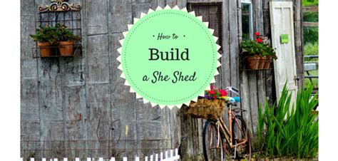 build   shed  shed ideas