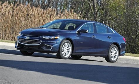 2018 Chevrolet Malibu  The Top Three Ranking Sedan