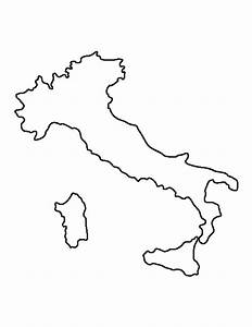 Printable Italy Template