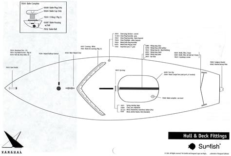Parts Of A Laser Boat by Sunfish Parts Diagram Sunfish Diagram And