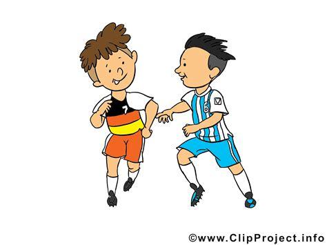 kinder fussball clipart illustration bild