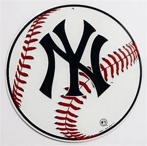 Plymouth Rock Insurance Company New York Yankees Tin Metal Sign Mlb Baseball Nyc Yanks
