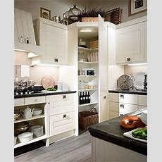 Corner Pantry Design  Hide Electric Panel  Kitchen
