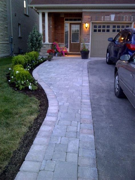 driveways extensions and backyard patio on