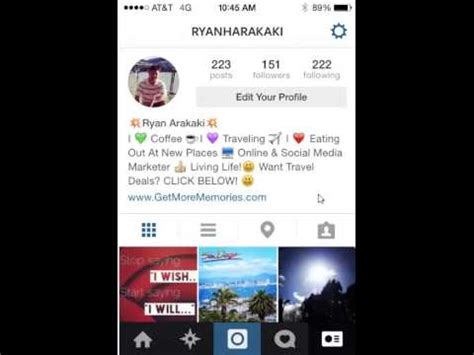 instagram marketing tips how to customize your profile