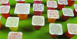 Adventskalender Womit Füllen : adventskalender basteln aus joghurtbechern ~ Markanthonyermac.com Haus und Dekorationen