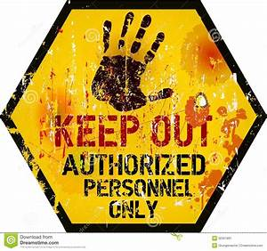 Keep out sign, stock vector. Illustration of safe ...  Keep