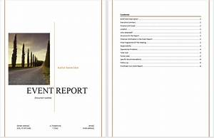 post event report template word gratitude41117com With it report template for word
