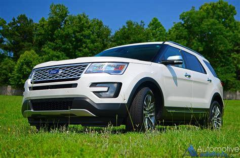2016 Ford Explorer Platinum Awd Review & Test Drive