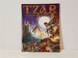 Tzar The Burden Of The Crown Pc Player U0026 39 S Guide Book Only