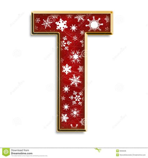isolated christmas letter   red royalty  stock image image
