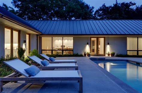 shaped house  courtyard google search operation colorado pinterest pool house