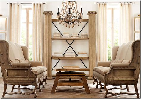 who makes restoration hardware sofas the deconstructed look trend or timeless tidbits twine
