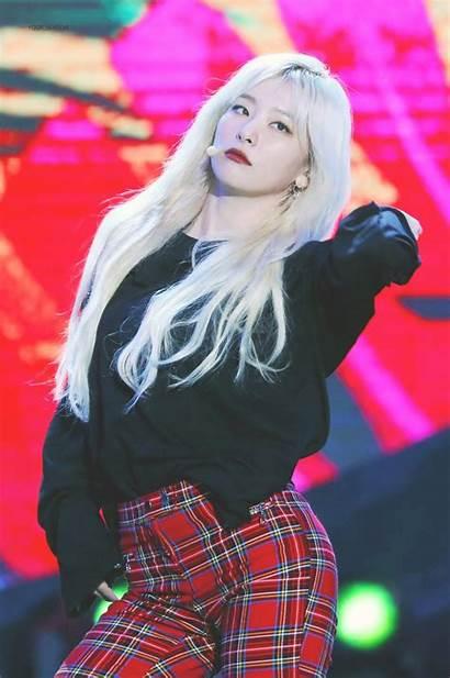 Blonde Seulgi Velvet Bombshells Pop Female Blackpink