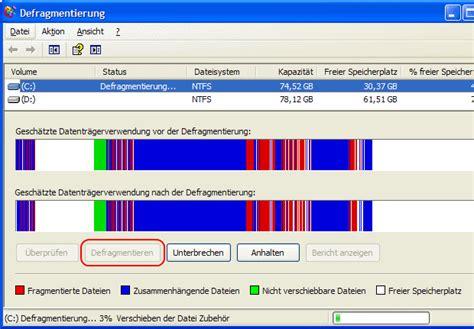 windows xp festplatte defragmentieren bits meet bytes