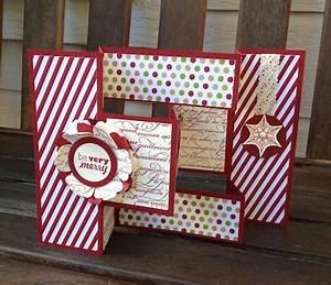 Christmas Tri Fold Card Pretty Paper Cards