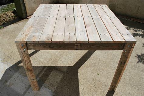 Chaise Haute D 39 Exterieur En Palette Emejing Table Jardin Palette Tuto Contemporary Amazing