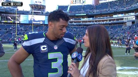 nfl russell wilson post game interview video