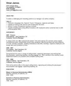 travel resume tips travel and tourism industry resume exles