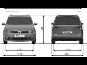 Dimensions Golf 5 : volkswagen touran dimensions youtube ~ Medecine-chirurgie-esthetiques.com Avis de Voitures
