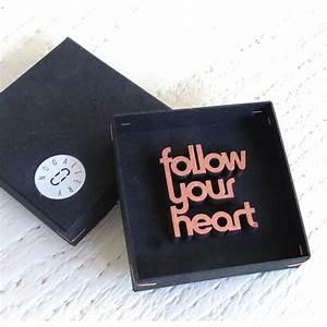 Deko Schriftzug Holz : nogallery follow your heart deko schriftzug holz ~ Eleganceandgraceweddings.com Haus und Dekorationen