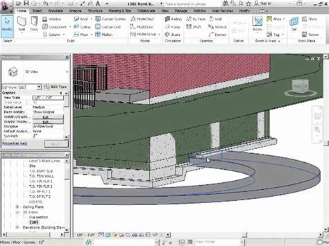 split floor plan house plans advanced revit architecture 2012 tutorial parking garage