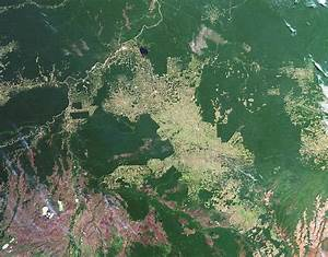 Deforestation In The Amazon Photograph by Nasa Earth ...