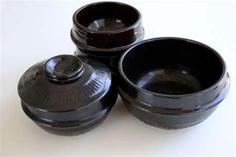 earthenware bowl korean pots pot cooking kitchenware bowls stoneware cook maangchi bulgogi called dishes