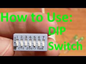 5imple Circuits  How To Use A Dip Switch