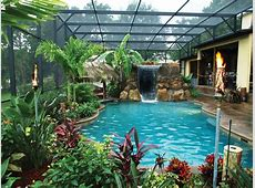 tropical backyard pool designs Backyard Pool Designs for