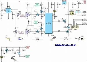 Push On And Push Off Electronic Switch Circuit Diagram