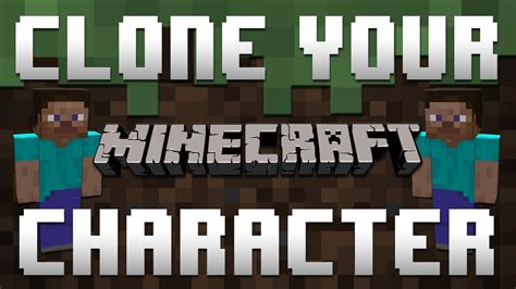 Minecraft Xbox 360 How To Clone Your Character Split