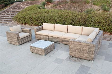 outdoor furniture patio sofa 8 sectional table chair