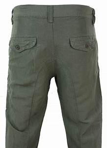 Pantalon Décontracté Homme : pantalon homme en lin en rouge khaki beige cr me et bleu d contract chic t ebay ~ Carolinahurricanesstore.com Idées de Décoration