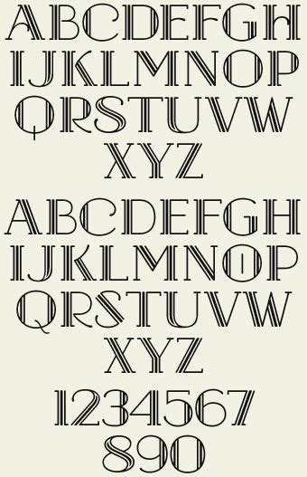 image result  art deco serif font art deco font deco font lettering fonts