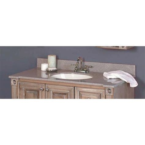 """At american standard it all begins with our unmatched legacy of quality and innovation that has lasted for more than 140 years.we provide the style and performance that fit perfectly into the life, whatever that may be. 43"""" Duchess Collection Vanity Top at Menards$500 