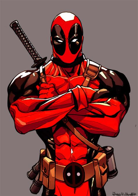 Deadpool By Sleepycupcake404 On Deviantart