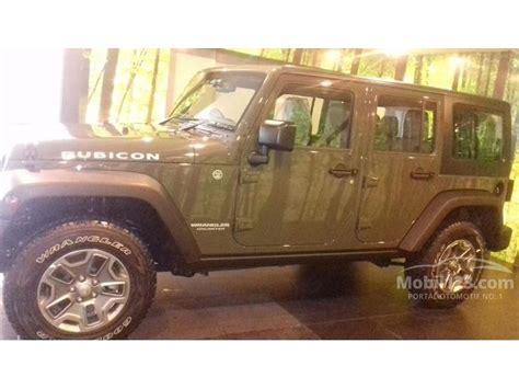 jual mobil jeep wrangler 2015 rubicon 3 0 di dki jakarta automatic suv hijau rp 1 099 000 000
