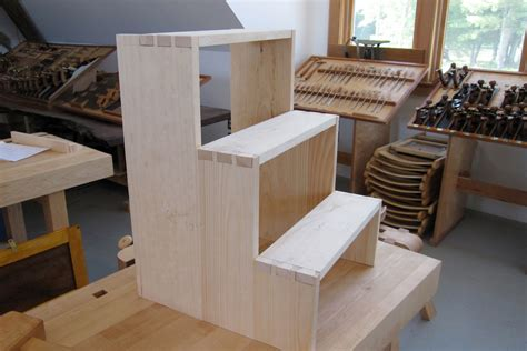 wood work shaker step stool woodworking plans  plans