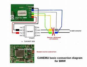 How To Use Canemu Can Filter For Bmw Cas4  U0026 F20  F30 With Fem