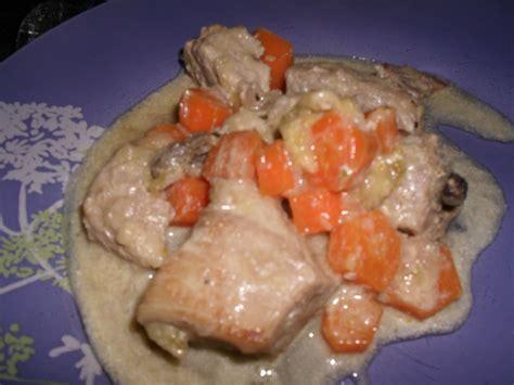que cuisiner avec des carottes poulet aux champignons et morilles et petits legumes