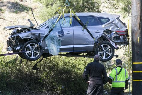 Tiger Woods was speeding before crashing SUV, sheriff says ...