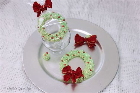 süße geschenke selber machen baiser adventskranz selber machen als deko f 252 r kleine geschenke absolute lebenslust