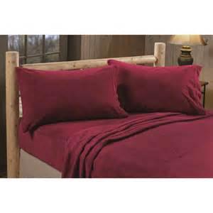 fleece fitted sheet castlecreek microplush fleece sheet set 226196 sheets 3769
