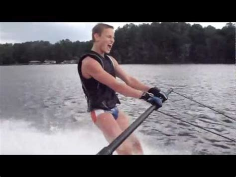 FIRST TIME WATER SKIING! (8.11.12 - Day 103)